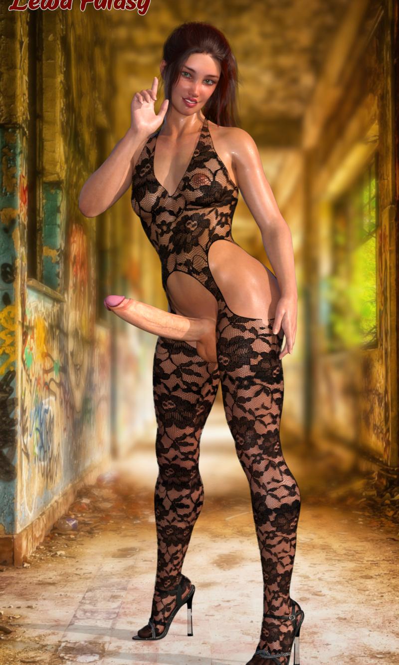 Vanessa in body stocking