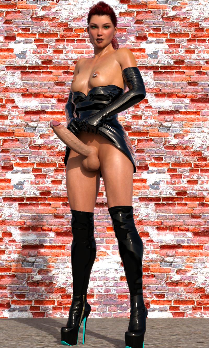 Vanessa in latex