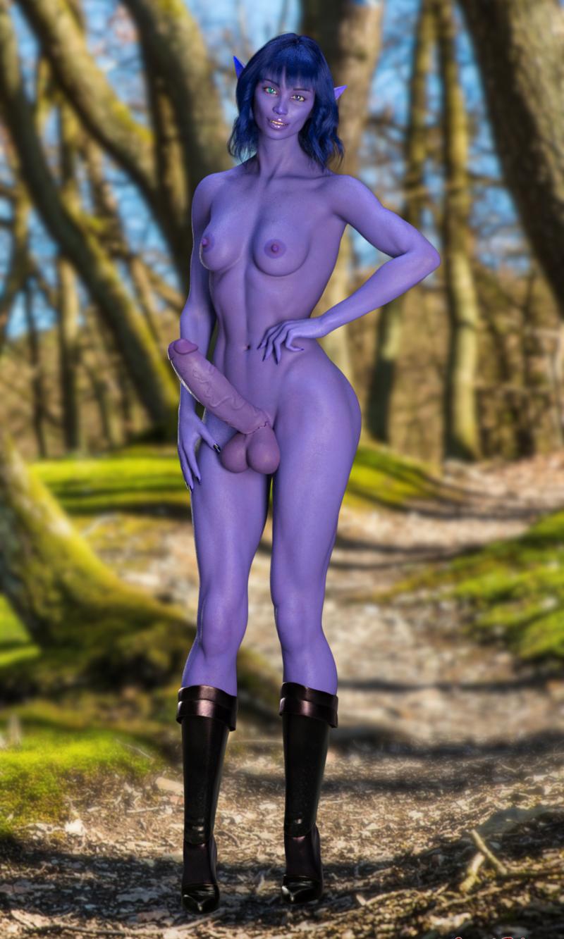 Dark-elf Lia