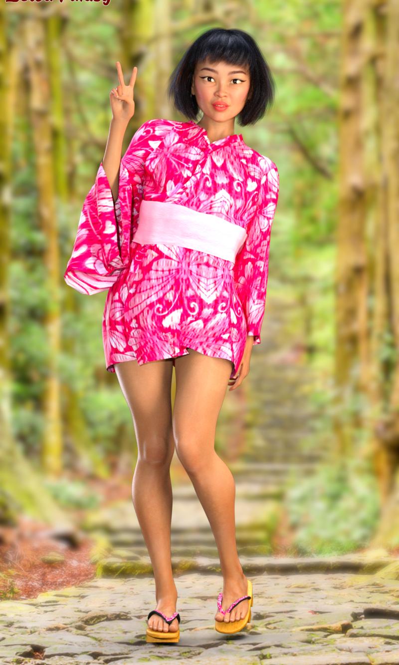 Cute petite Kimiko Nakamura