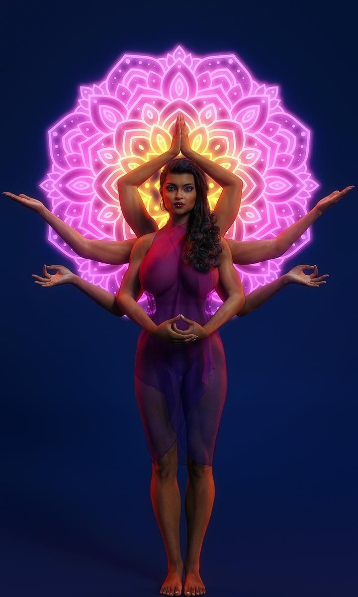 Aditi, Godess of the Infinite