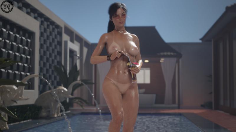 Poolside w/ Lara