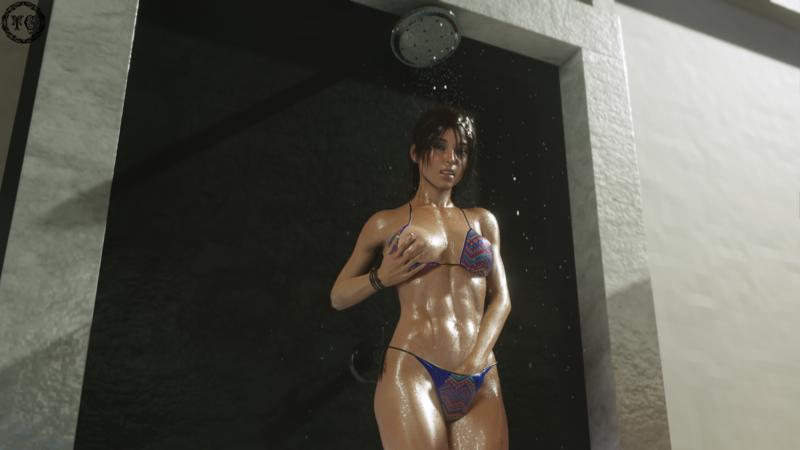 Poolside w/ Lara - Cooling off