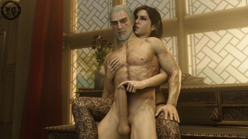 Yennefer X Geralt - Petting the wolf
