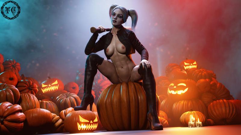 Harley Quinn - Happy Halloween