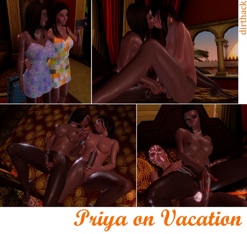 Priya on Vacation