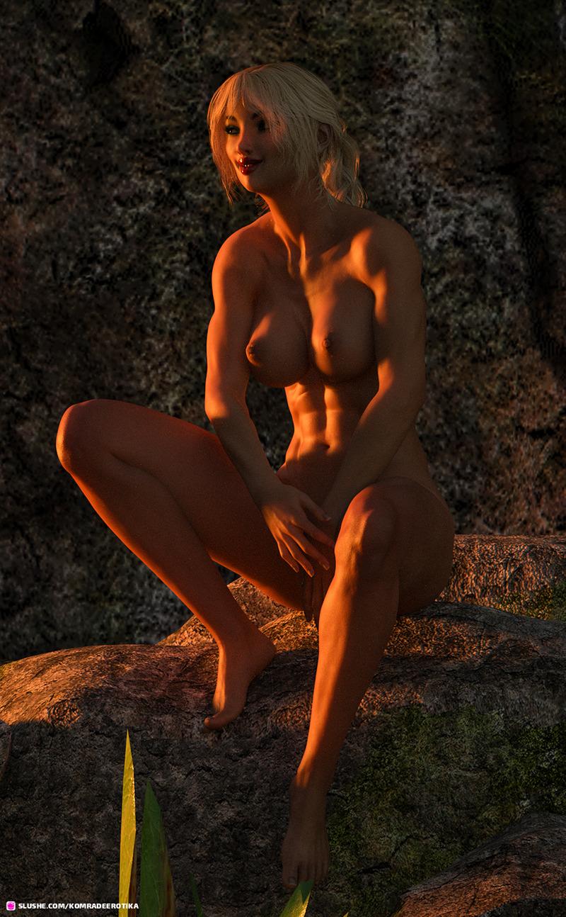 Sunset Skinny Dip