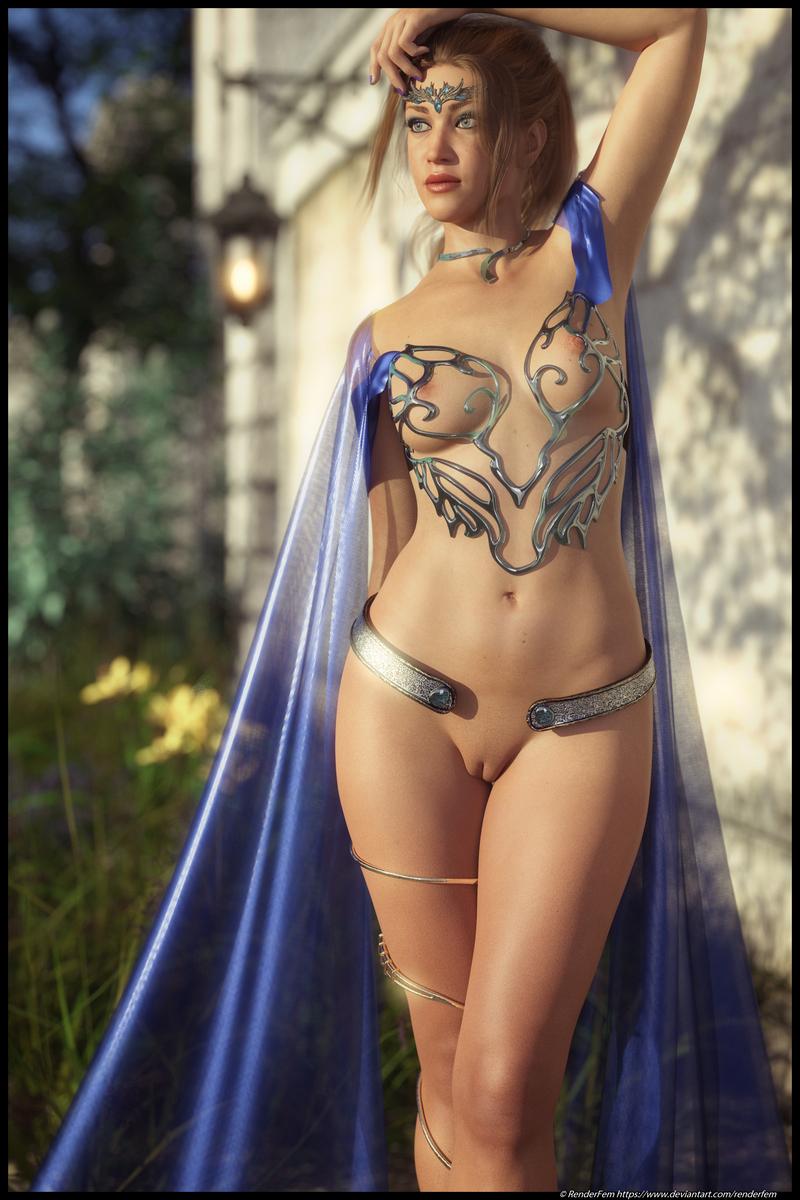 Beata Royal by renderfem