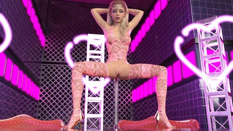 Bree - Stripper Stage 2