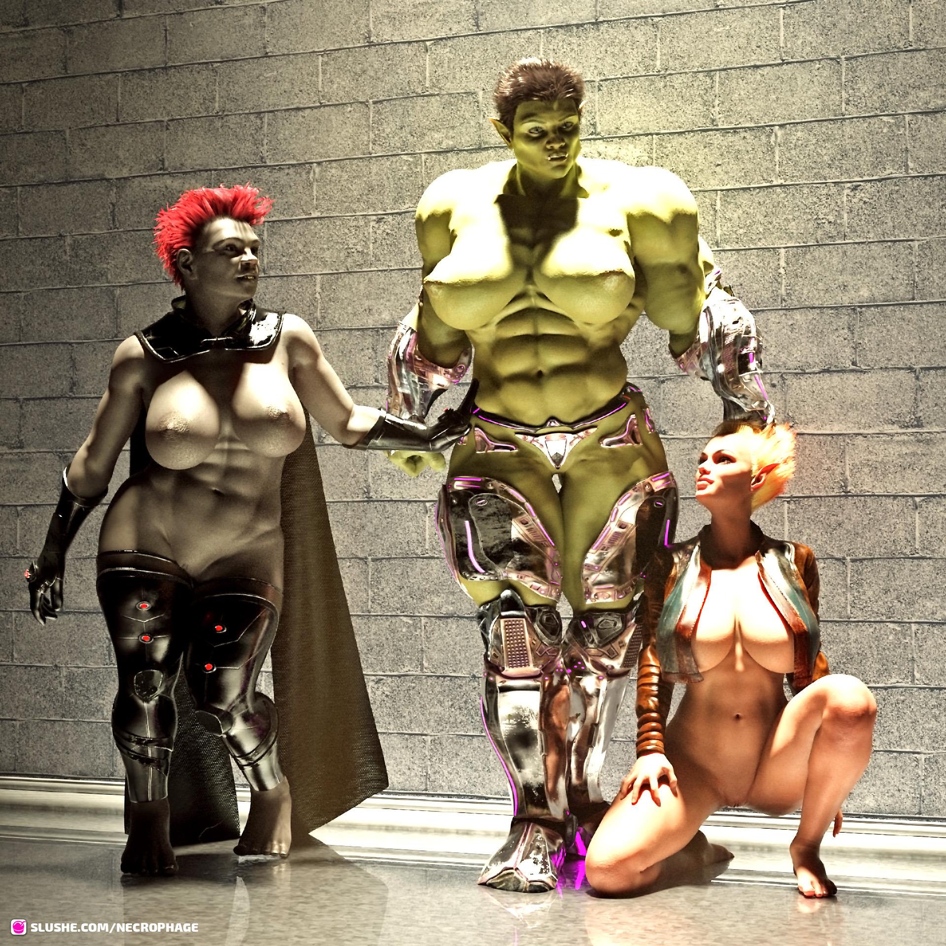 Orc, Elf and Dwarf ... Again
