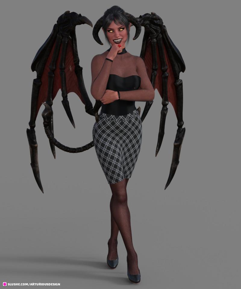Devil Office Mommy