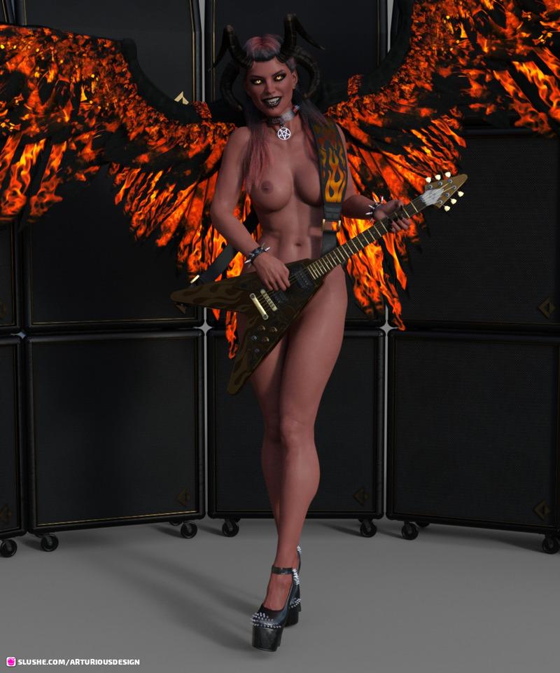 Rocker Devil Tara