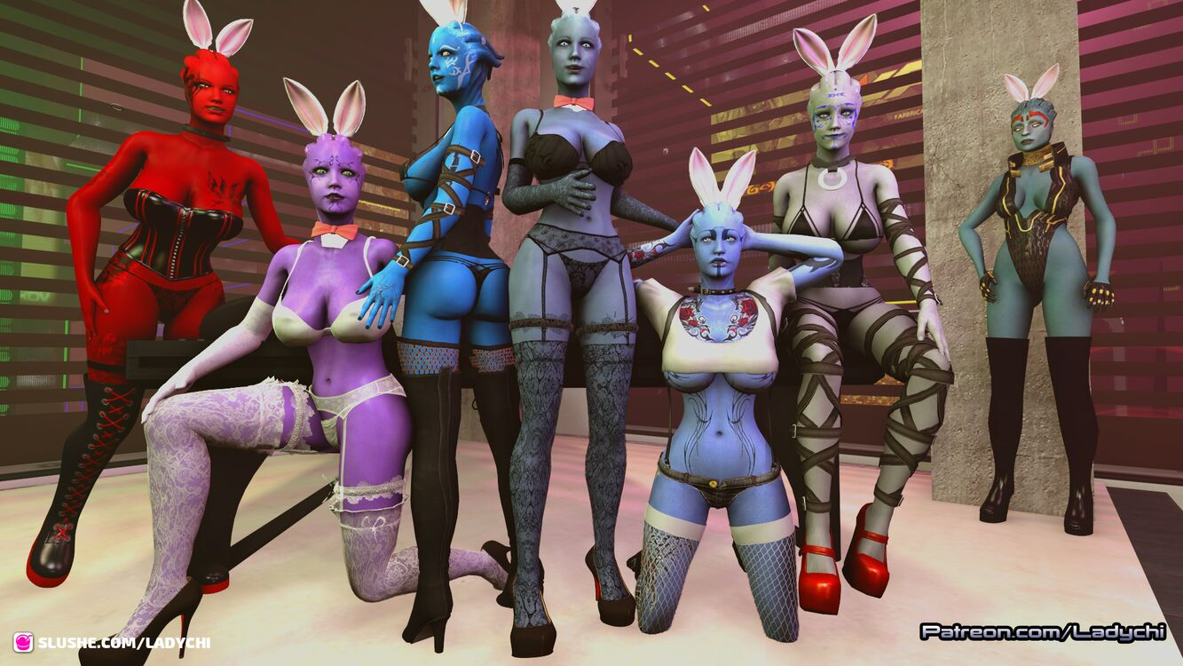 The people of Thesia (the Asari) Wish all a HAPPY Easter!