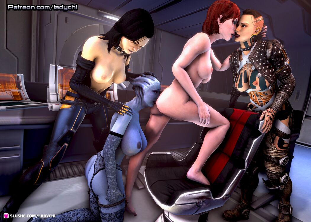 Shepard takes control of Liara with the help of Jack and Miranda! Page 2.