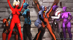 Ahsoka from Starwars is captured by a gang of asari! Part 12.
