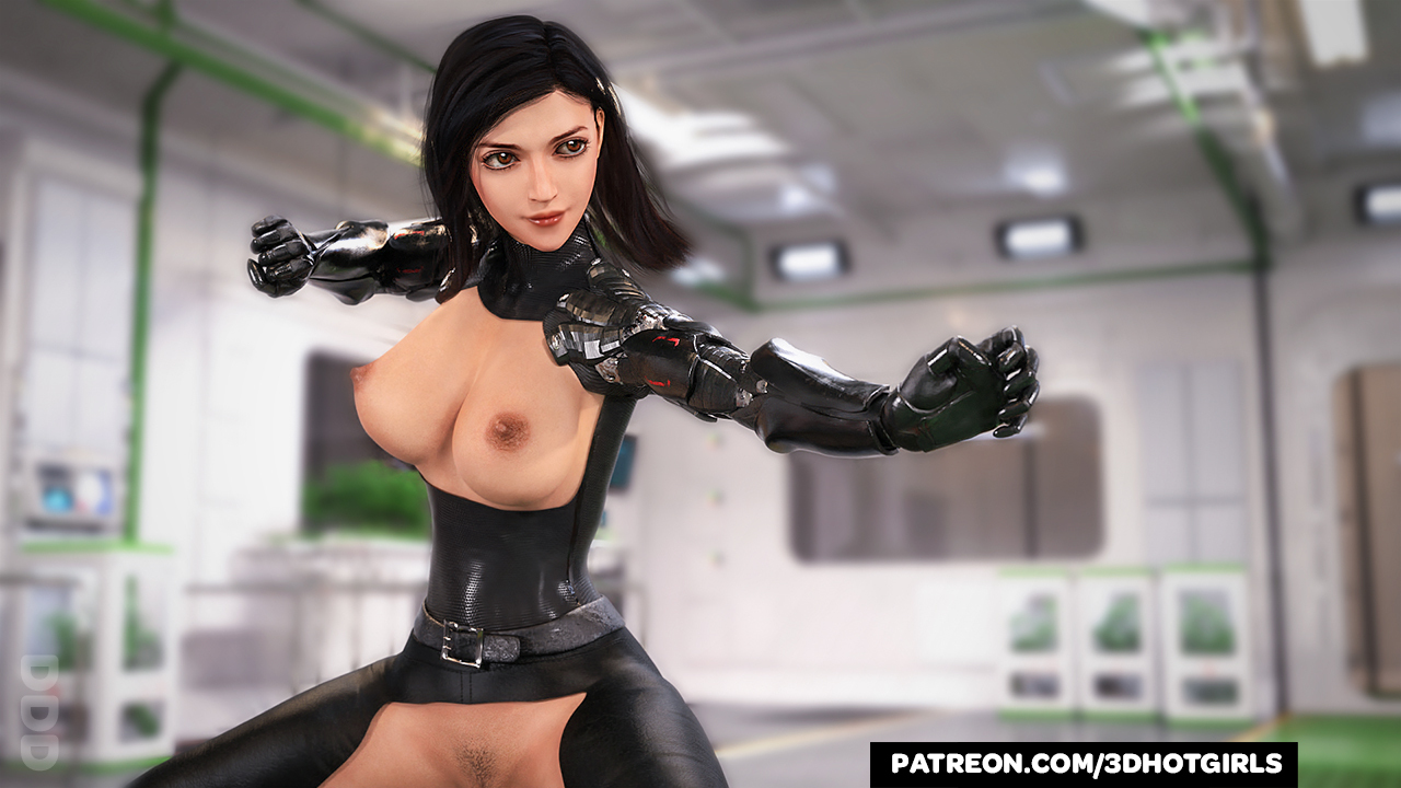 Alita Battle Angel - Can you handle her fists NSFW