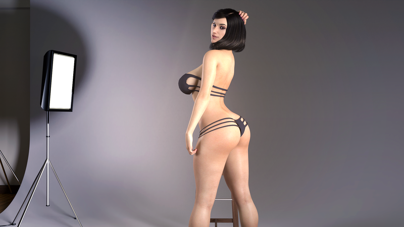 Madeleine Posing