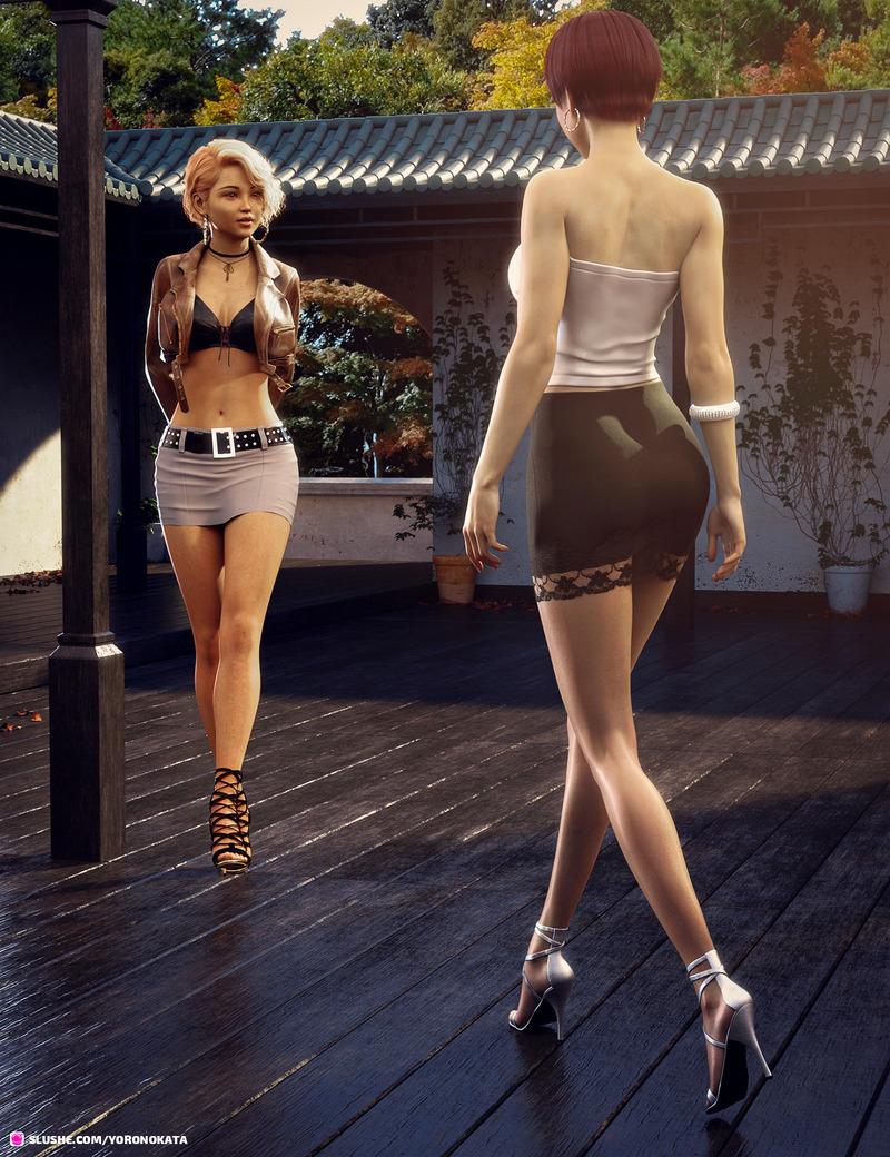 Maya meets Akiko #1