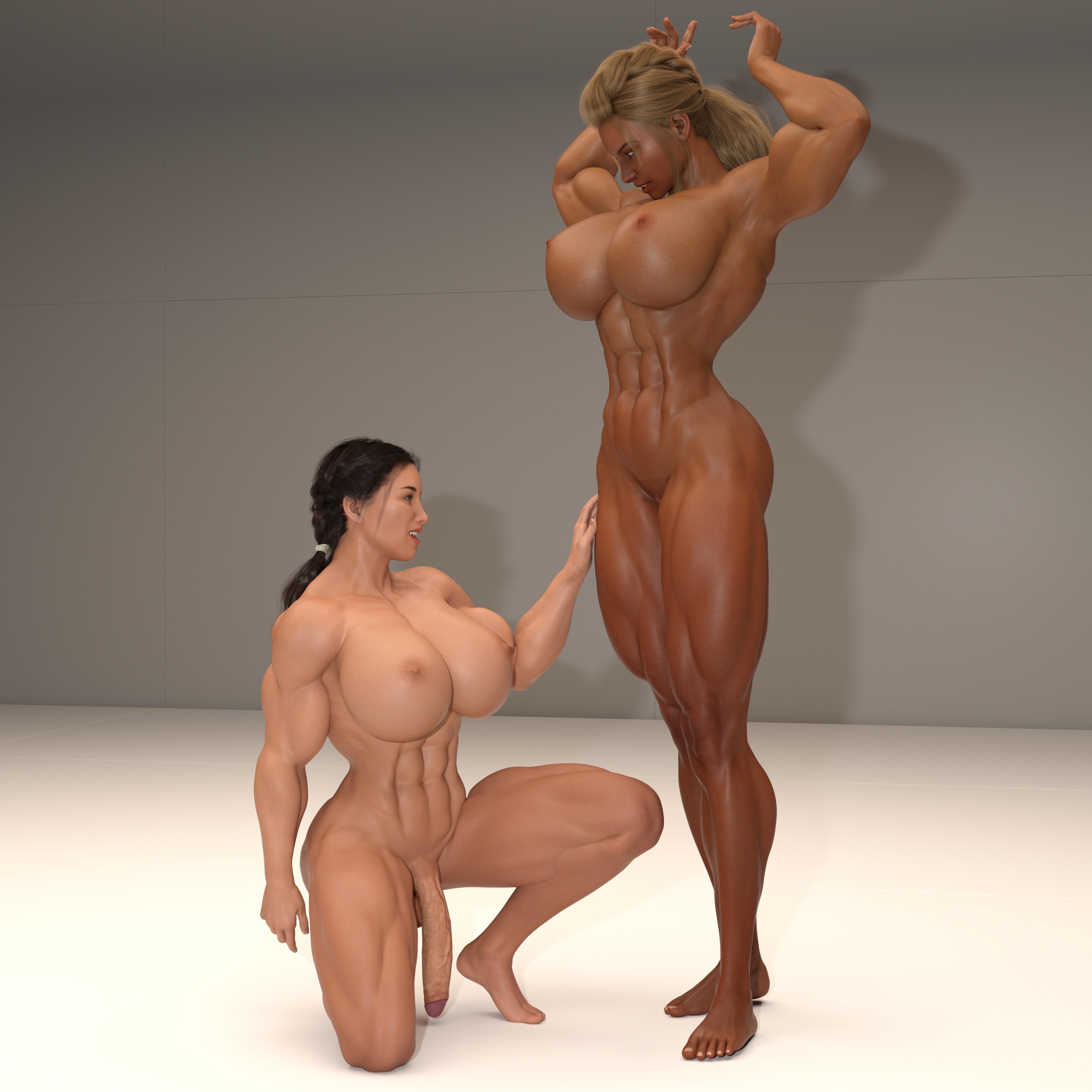 Futa girl worshipping Hannah