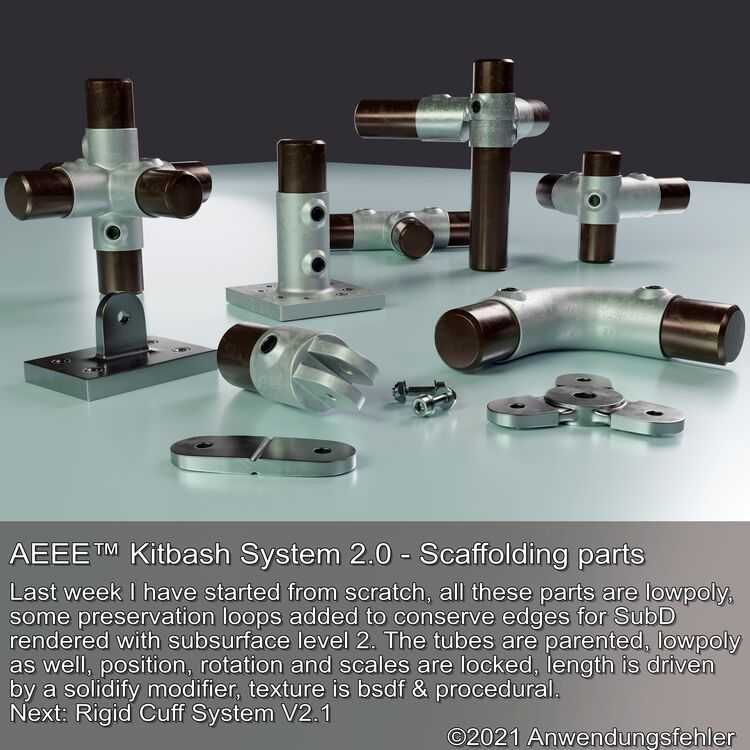AEEE™ Scaffolding Kitbash System 2.0