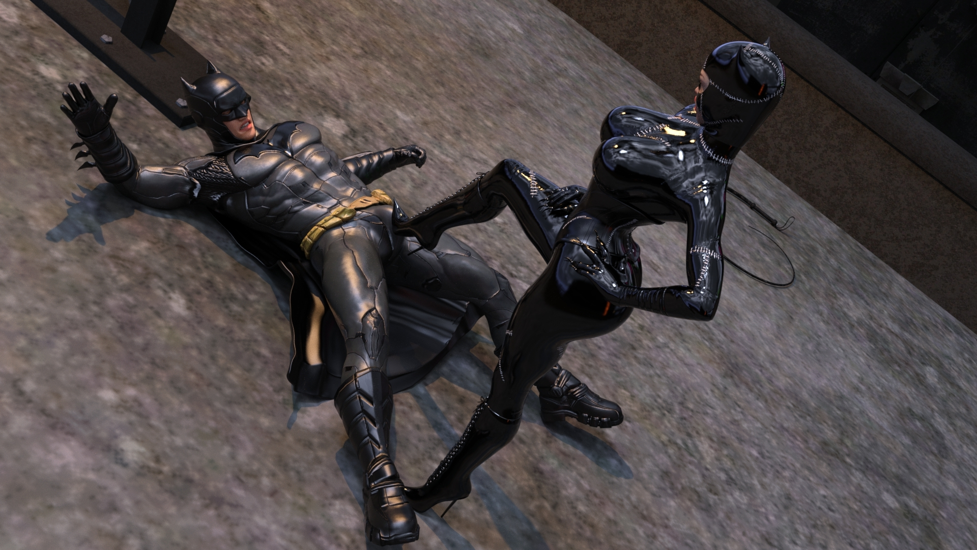 Catwoman Encounter