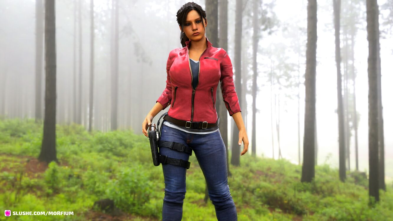 Claire Redfield - Test Shots