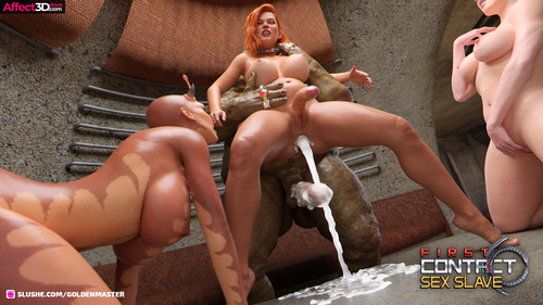 First Contact 10-Sex Slave