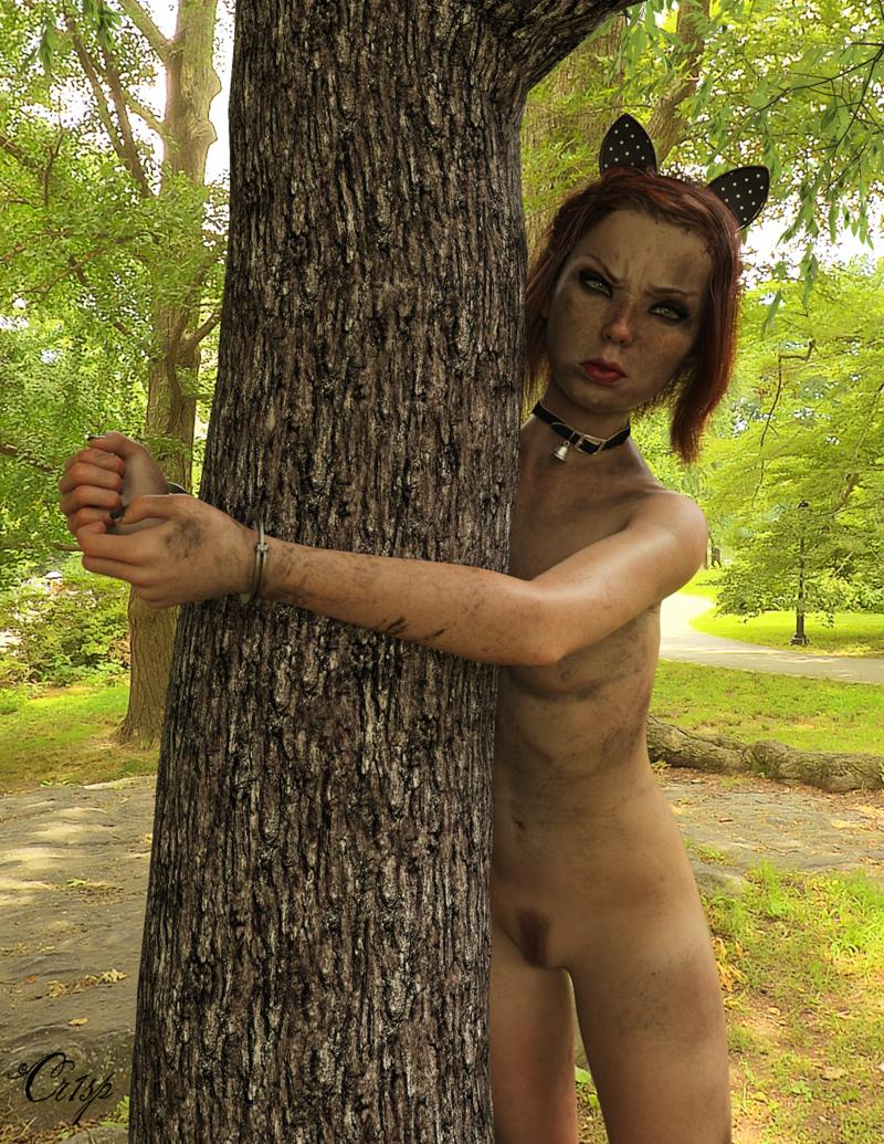 Annemarije: Cat in a Tree