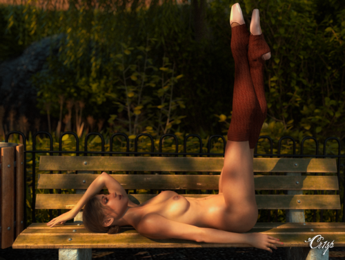 Esmée: Ballerina on a Bench