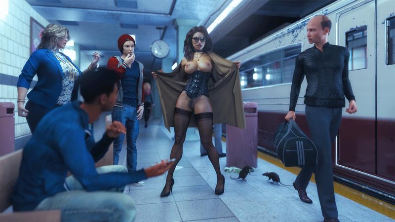 Subway Flasher