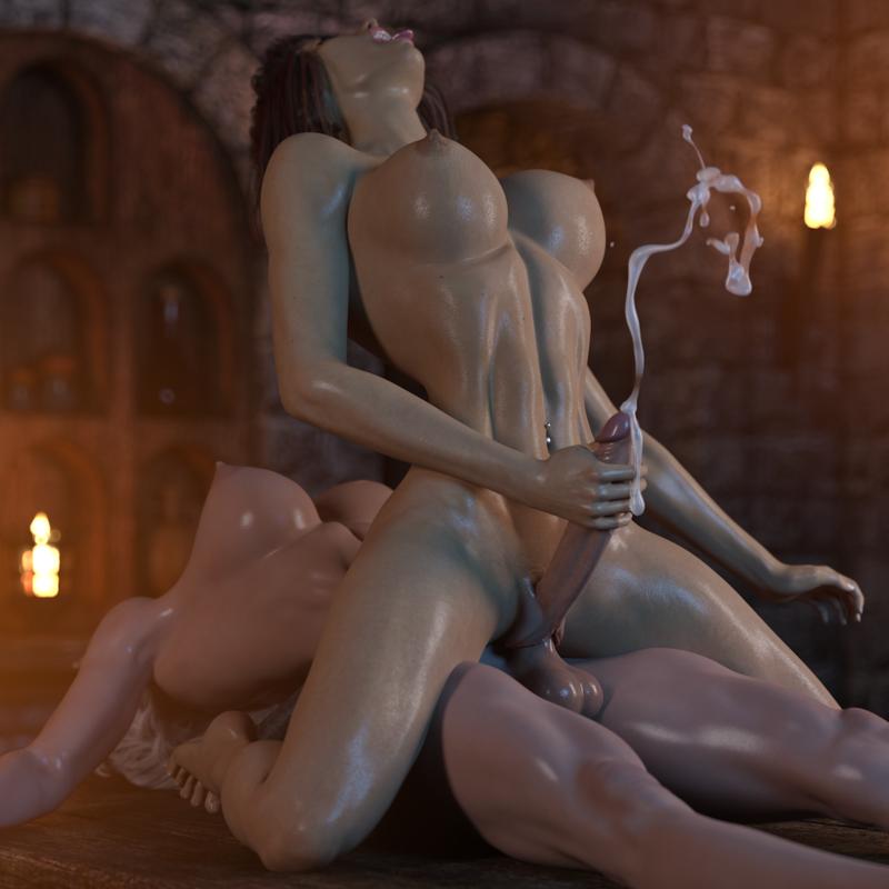 Fantasy Futa - Cora v Addy