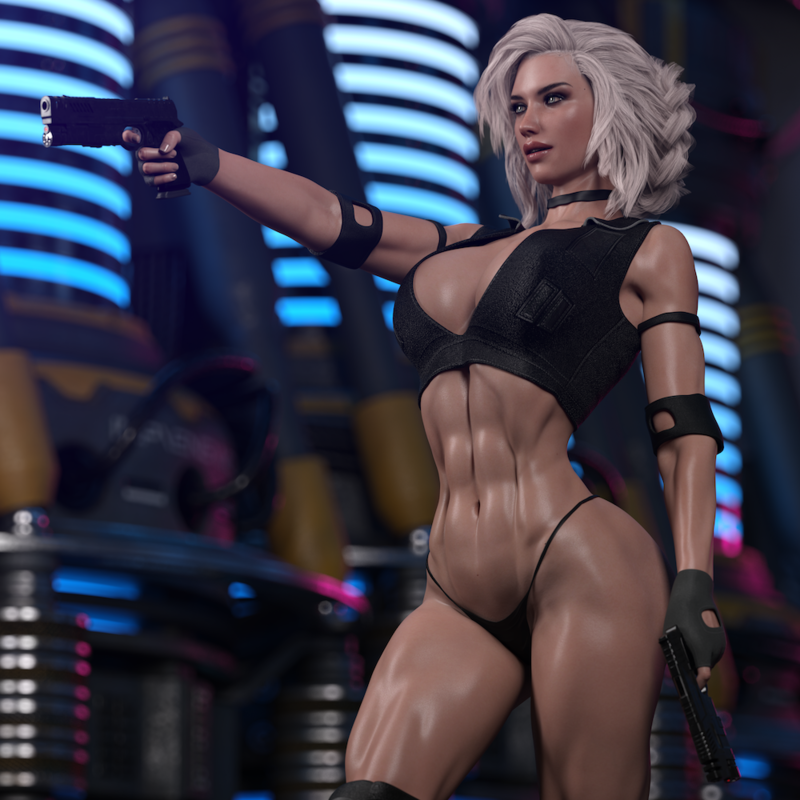 Cora - Gunner Girl II