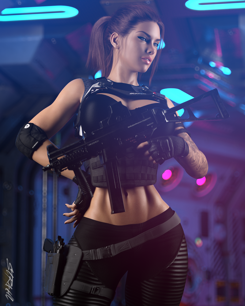 Evie - Gunner Girl