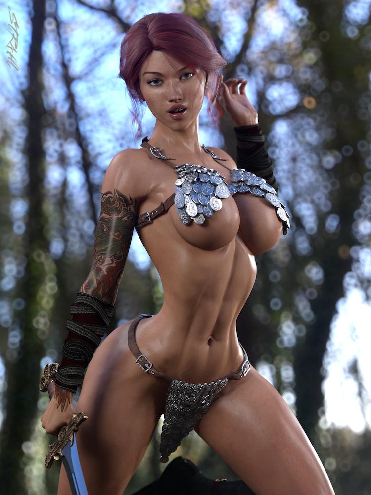 Joanna - Amazon Warrior