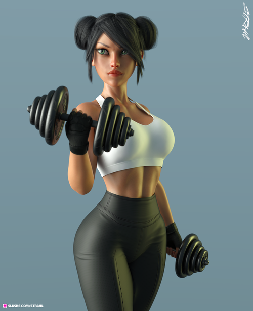 Do You Even Lift (Toon WIP)