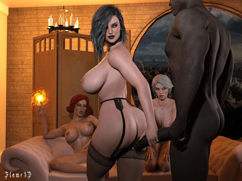 Witcher 3 secret ending