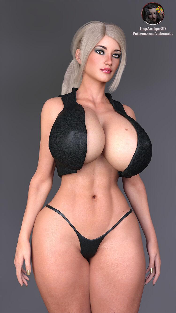 Sonia - Bare Cleavage