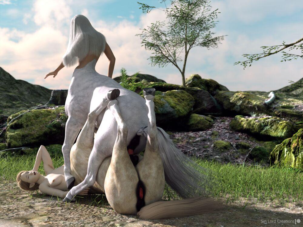 Centaur Courtship