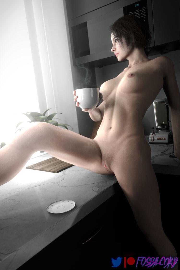 Jill morning coffee