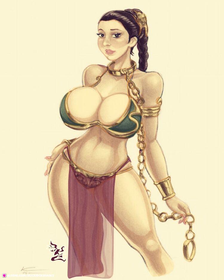 Bimbo Slave Leia