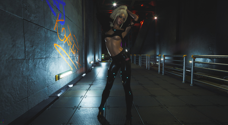 Cyber pose