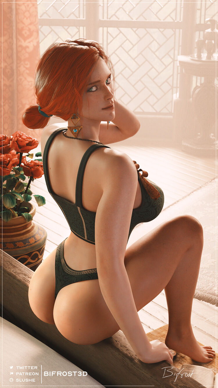 The Morning After   Triss Pin-Up