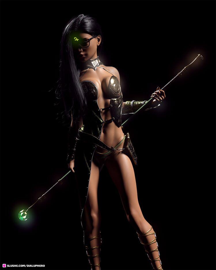 Alafair, Exalt Sorceress