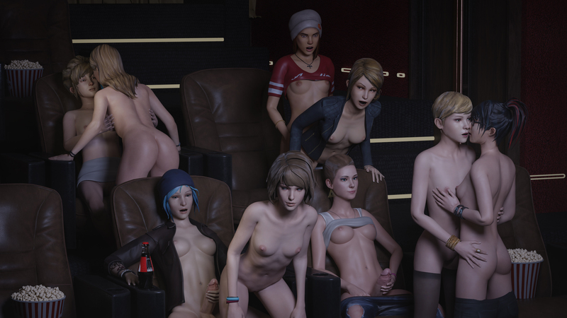 Life is Strange (Cinema orgy)