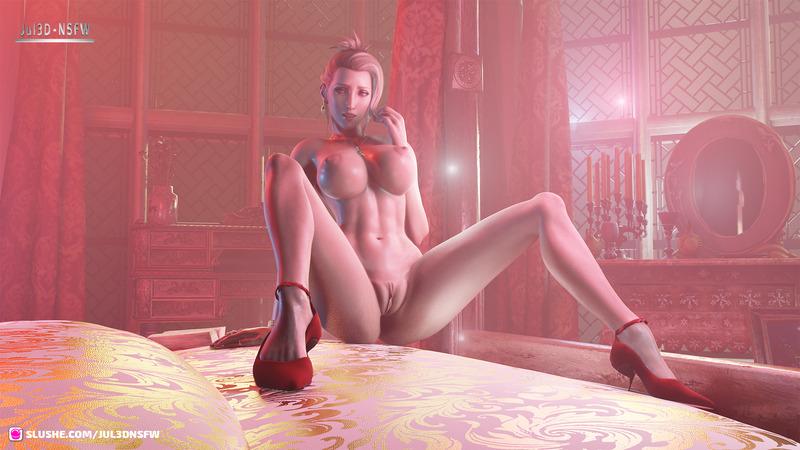 Scarlet FF 3D Artwork