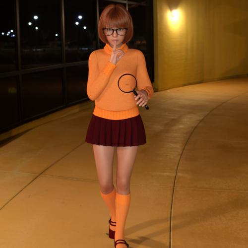 Velma on the case at 18