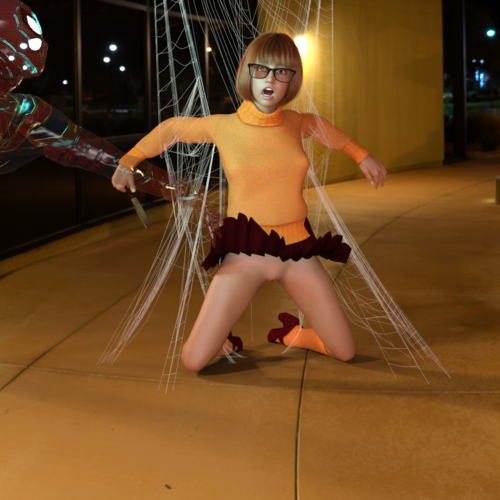 Velma and the web
