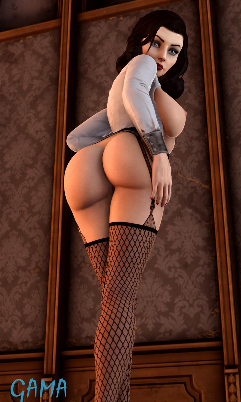 BaS Elizabeth Showing Off - Front & Back Version