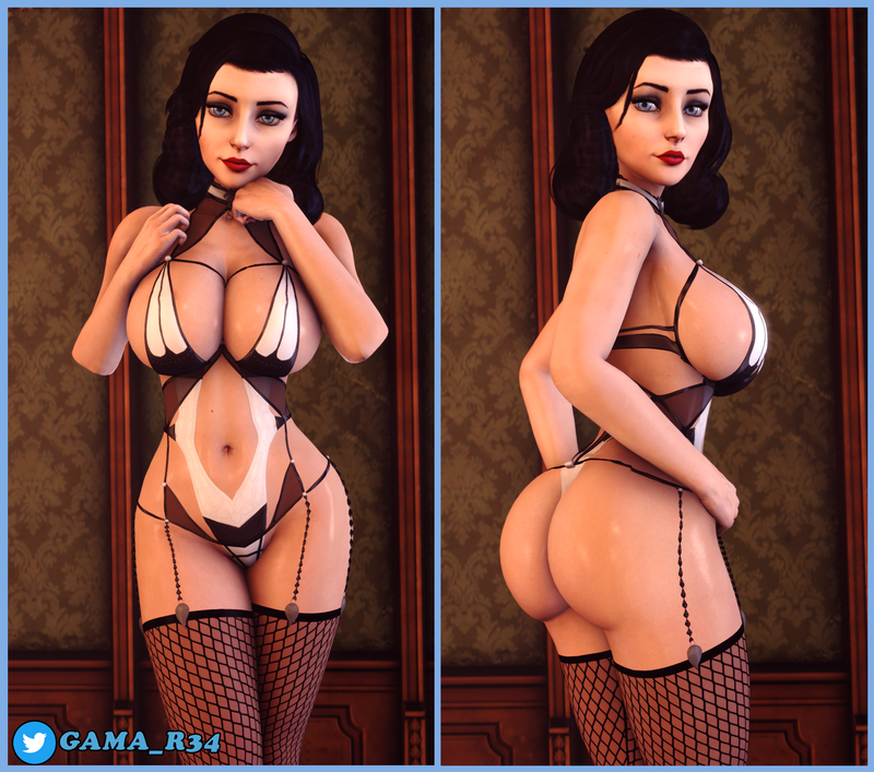 Elizabeth Sexy Lingerie Pin-Ups