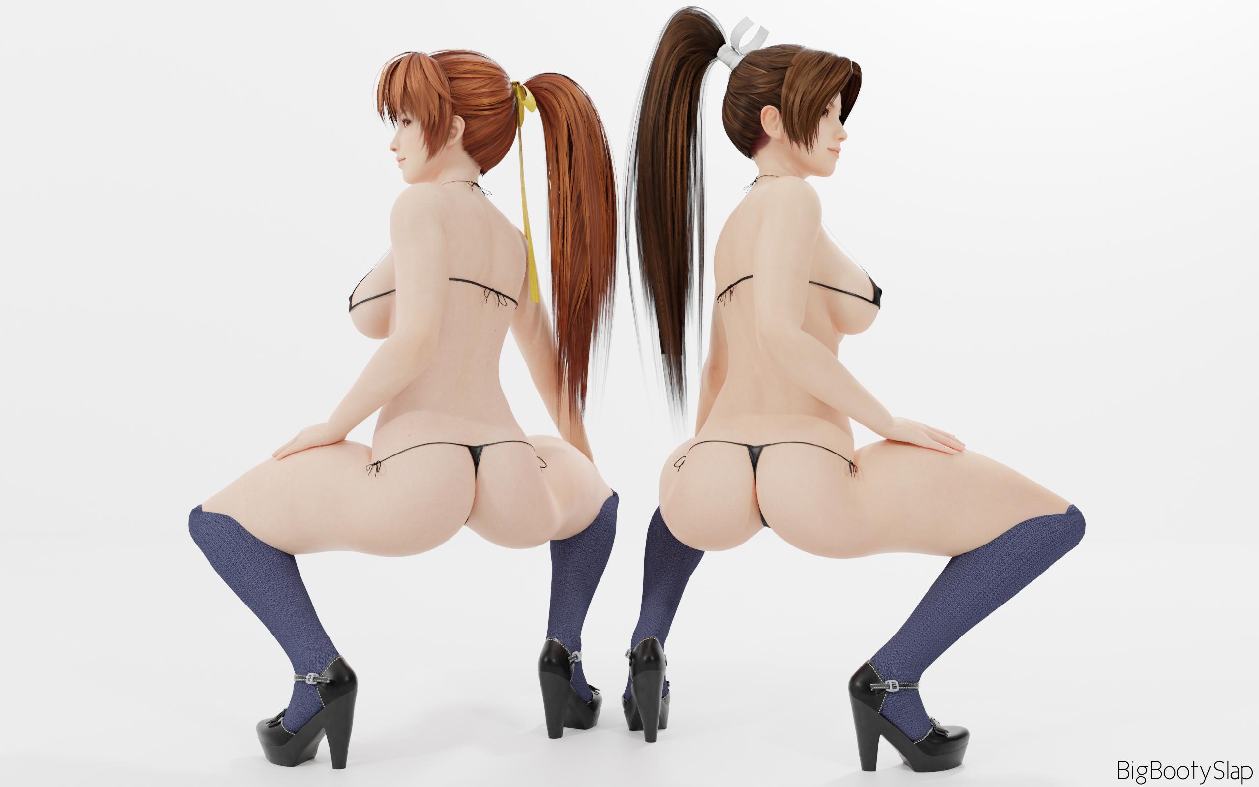 Kasumi and Mai